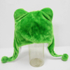 Soft Plush Toy Frog Winter Hat for Kids