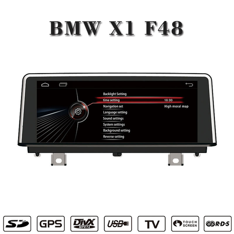 "10.25""android 4.4 car stereo for BMW X1 F48 gps navigatior wifi connection,3g internet"