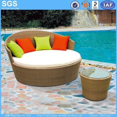 Leisure Furniture Garden Furniture Rattan Woven Daybed