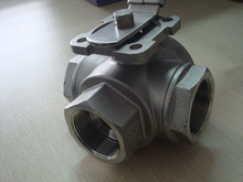 Three-Way Ball Valve with Mounting Pad (YZF-V11)