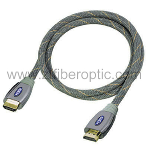 Grey Color Shielded HDMI Cable