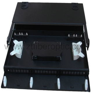Cold Rolled Steel Slidable Optical Fiber Patch Panel