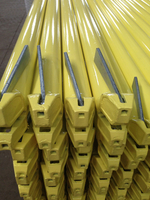 Ringlock System Scaffolding Ledger Yellow Painted / Powder Coated High Quality