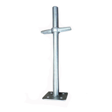 Scaffolding Screw Jack with Electro Galvanized Surface