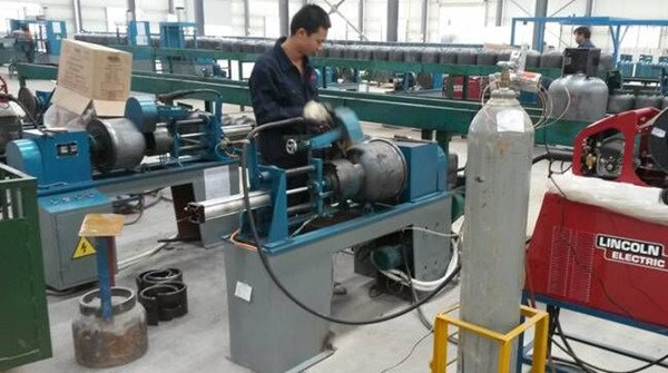LPG Gas Cylinder Welding Machines