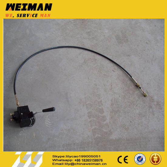 Sdlg LG936 LG938 Gearbox Parts Transmission Cable Shaft LG06-Bscz-936 4190000871/ Speed Control Mechanism 4110000659