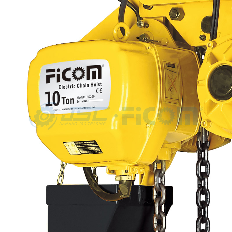 Electric Chain Hoist Model: STD-ST/DT (Large Capacity : 7.5 to 10Ton)