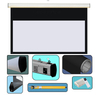 Luxury HD Motorized Projection Screen 16:9 For Home Cinema