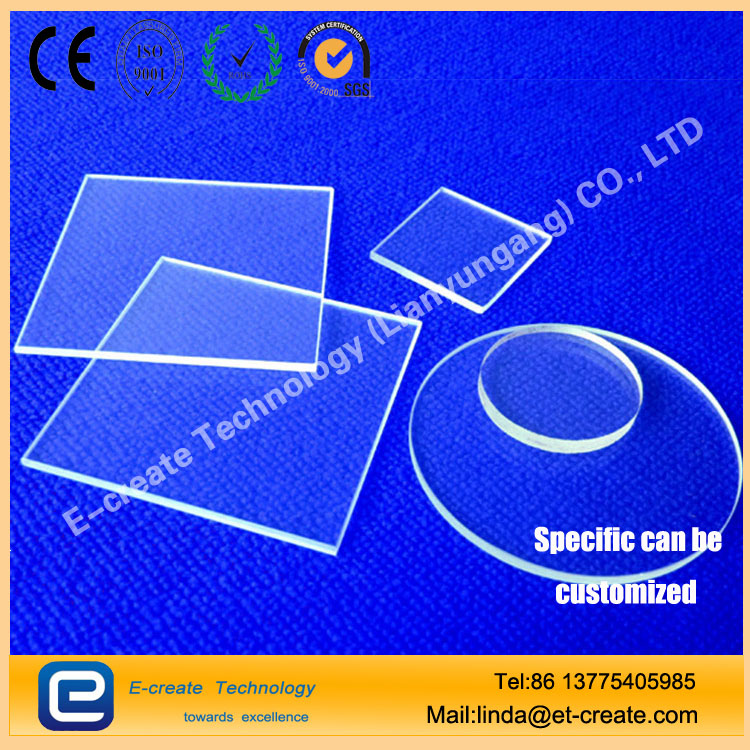 Quartz mirror, glass windows, quartz polishing film, high temperature quartz plate, high-quality quartz film