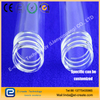 GL standard threaded joint quartz tube / quartz glass tube with screw thread