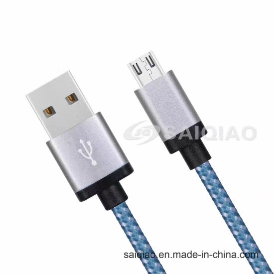 USB2.0 Braided Charging Data Cable of China′s Top Suppliers for iPhone