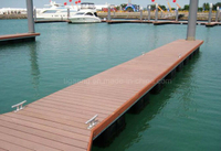 WPC Decking Wood Polymer Composite Flooring Exported to North America