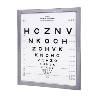 WH 0704 3M ETDRS led distance visual acuitry chart light box