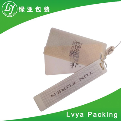 Customized Garment Label White Paper Hangtags