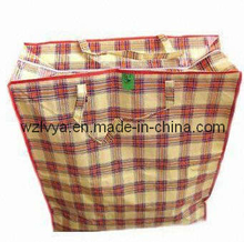 PP Woven Package Bag with Zipper on Top (LYZ06)