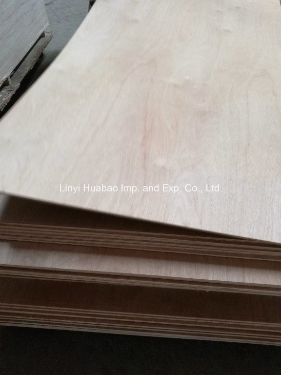 Bintangor/Okoume/Red Pencil Ceder Commercial Plywood for Furniture or Decoration