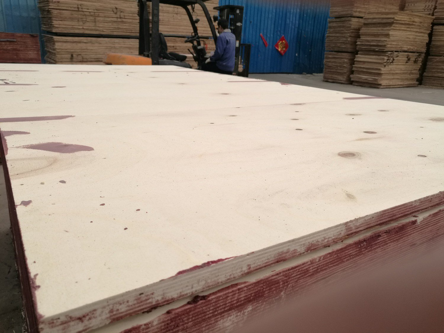 Marine Film Faced Plywood for Concrete Formwork From Linyi Huabao