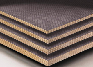 Huabao Anti-Slip Film Faced Plywood Poplar Core 1220*2440mm