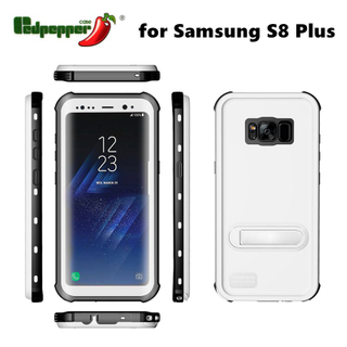 2017 Full Cover Water/Dustproof Cell Phone Case for Samsung S8+
