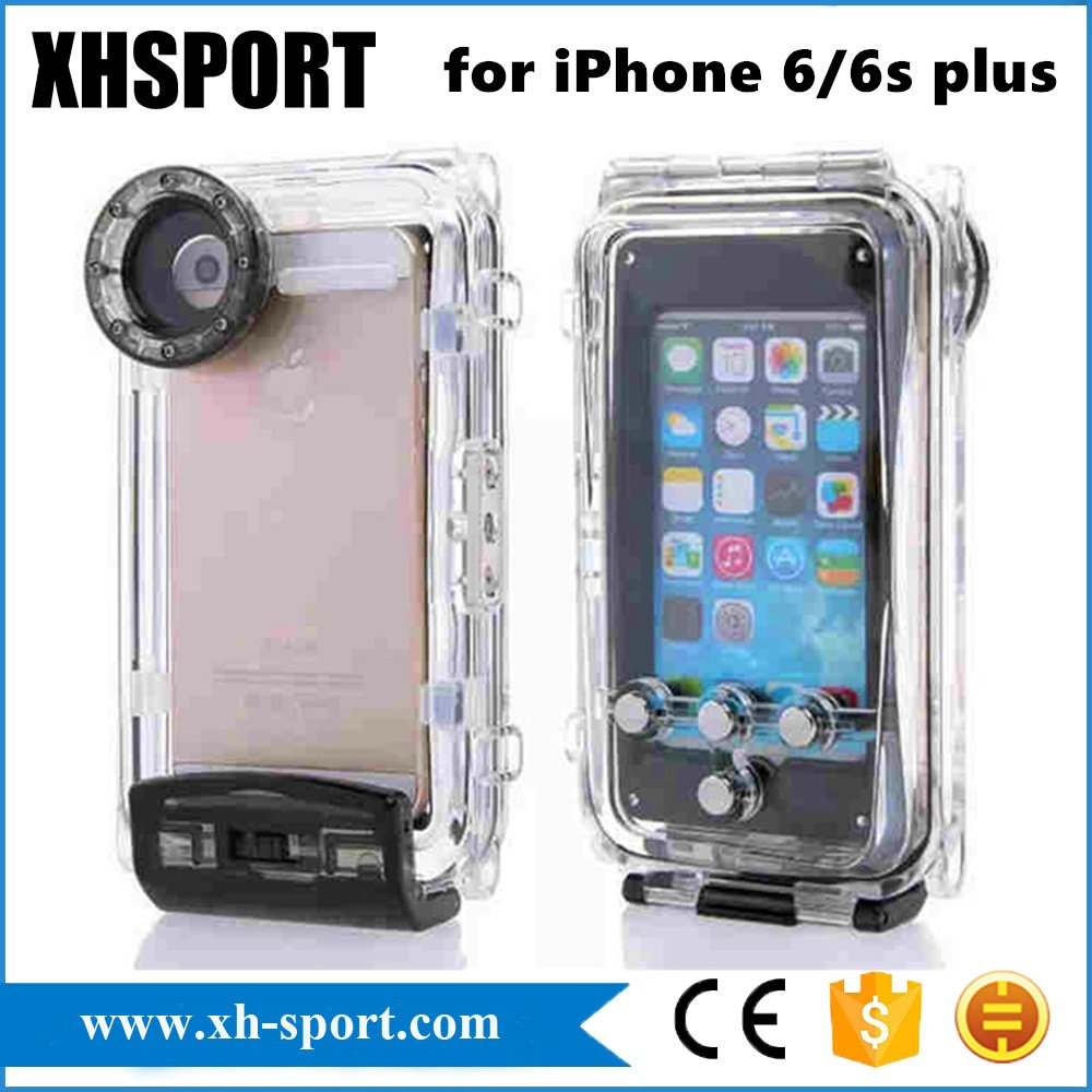 100% 40 Meter Waterproof Waterproof Case for Smart Phone iPhone 6plus