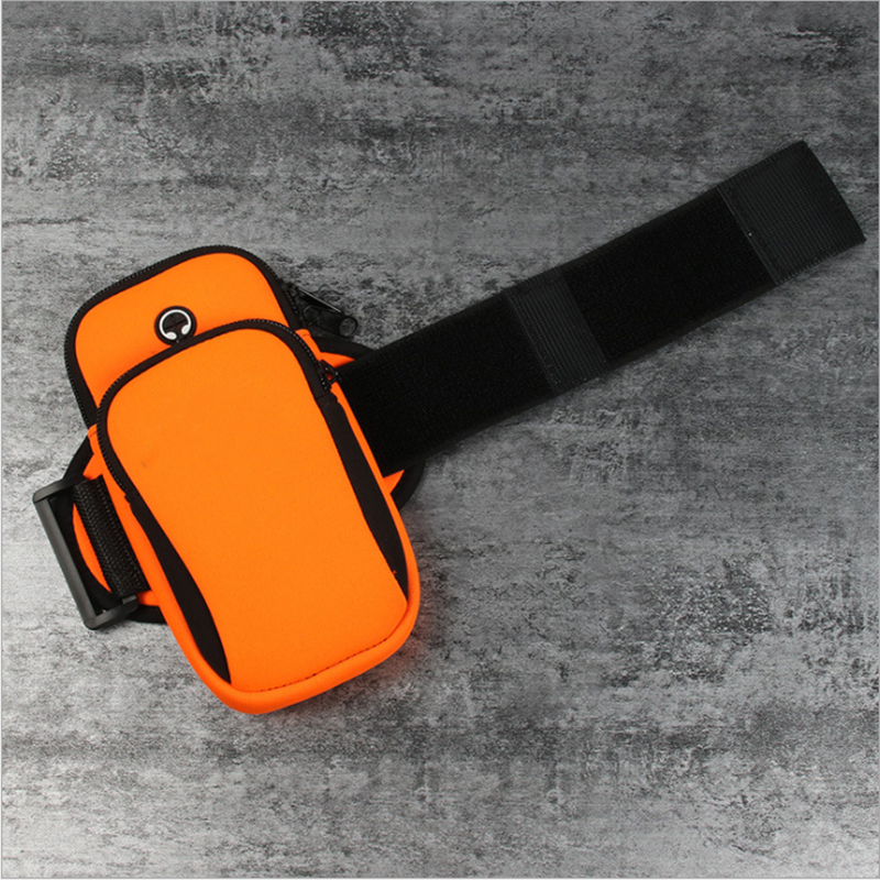 Sport Bag Adjustable Armband Sport Neoprene Fabric Armband for Mobile Phone Sports Gym Armband for IPhone