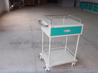Instrument medical trolley