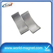 Customized Size Strong Sintered Arc Neodymium Magnets