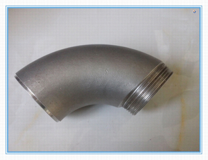SUS Pipe Fitting Made of Stainless Steel
