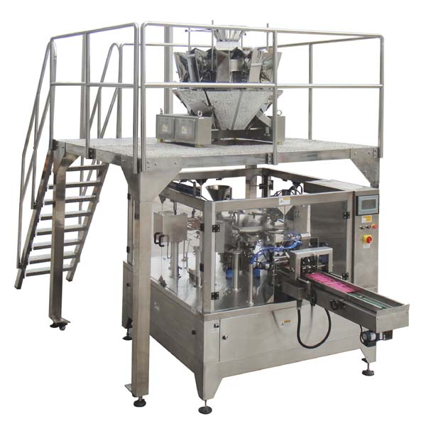 granule premade pouch packing machine