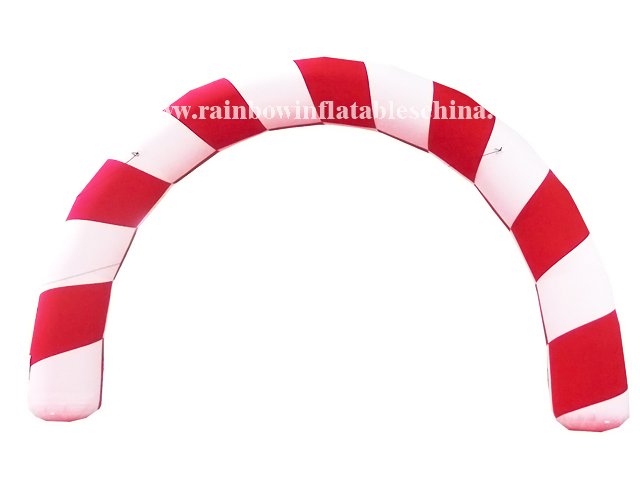 RB21011(8.4x5.2m)Inflatable Activity or Welcome Arch, Inflatable Candy Arch for Christmas
