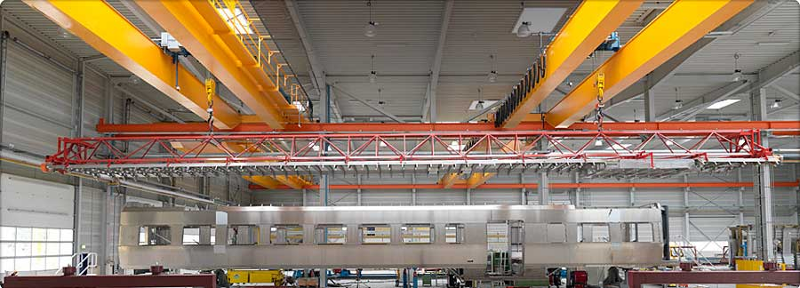 overhead Cranes For Railway Industry