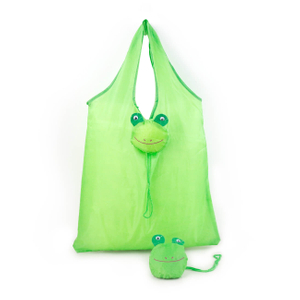 Eco Travel Frog Foldable Handbag Grocery Tote