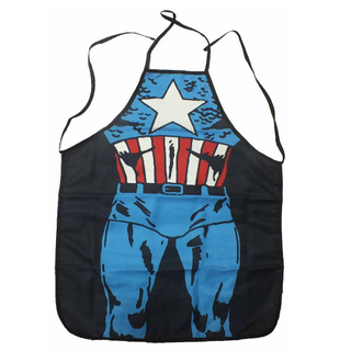 Superhero Cosplay Captain America Apron