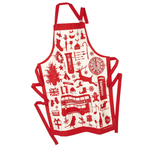 Personalized Cotton Christmas Apron
