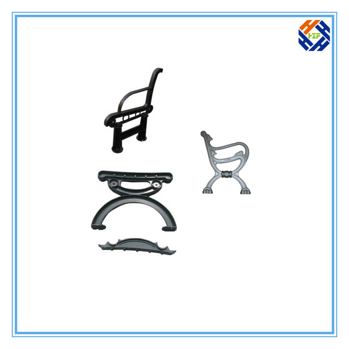Garden Bench End Outdoor Furniture by Die Casting Processing-2