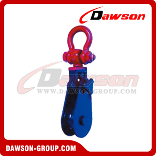 DS-B058 Light Type Champion Snatch Block com Shackle