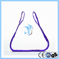 WLL 1T Eye and Eye Polyester Round Sling