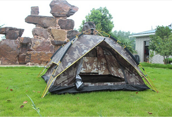 Military High Quality 3-4 Single Camping Tent