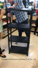 5 Tier Black Plastic Heavy Duty Shelving Racking Storage Unit (6030P-5T)
