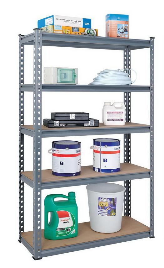 Heavy Duty Metal Shelf Storage Rack (9045-265)