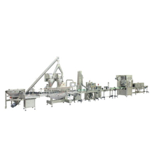 Dual Protein Powder Jar Filling Line