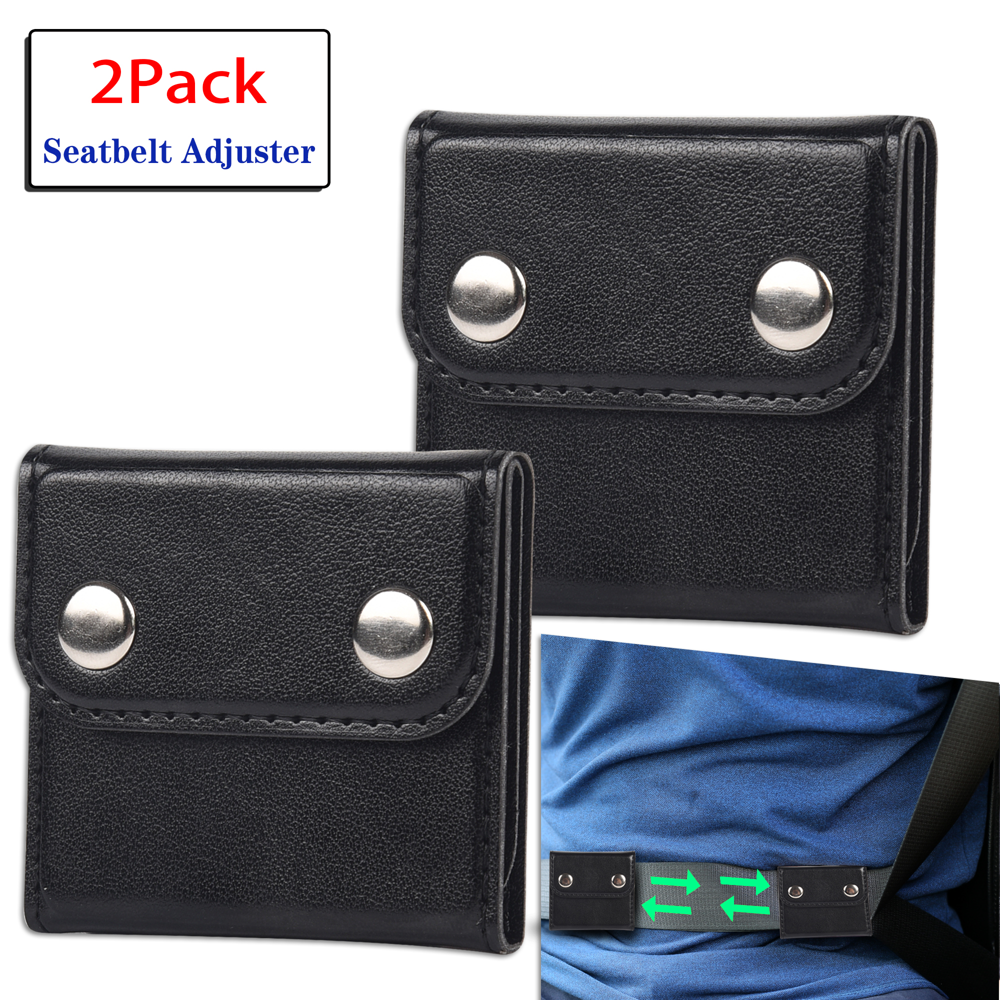 Seatbelt Locking Clip 2-pack