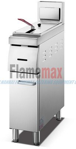 HGF-775D 1-Tank 2-Basbet Industrial Gas Fryer for French fries