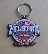 Custom Shape Events Giveaways Gift Silicone Keychain