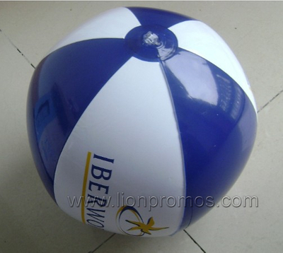 Custom Logo Printed Summer Promotional Gift 40CM PVC Beach Ball
