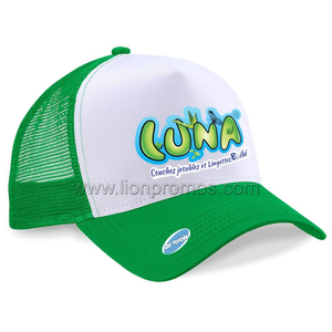 Summer Promotional Item Polyester Mesh Sports Cap