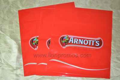 Custom Artwork Printing Plastic Boutique Bag