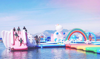 The Most Interesting Entertainment in Hot Summer---Inflatable Water Park