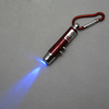 UV LED Keychain with Laser Pointer