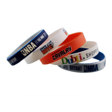 Customized silicone wristband bracelets with free design free samples